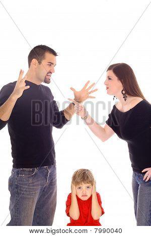 儿童抓在中间垂直