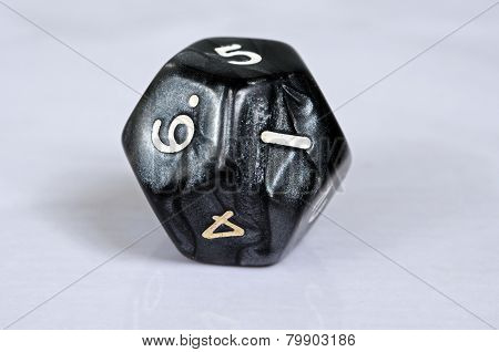 Dodocahedron 12 sided die.