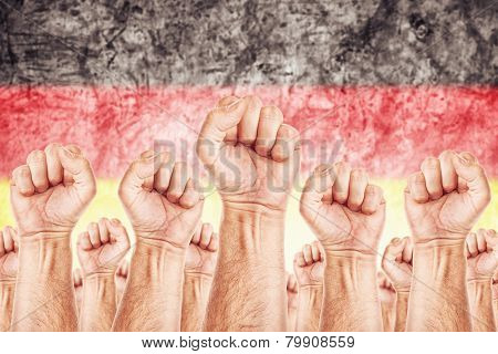 Germany Labour Movement, Workers Union Strike