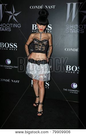 LOS ANGELES - JAN 9:  Bai Ling at the W Magazine`s Shooting Stars Exhibit at the Old May Company Building on January 9, 2015 in Los Angeles, CA
