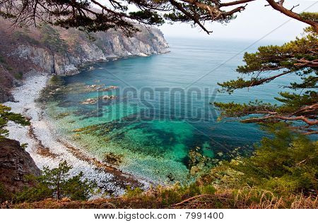 Sea Bay, Landscape, Russia