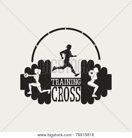 Vintage Cross Traning Emblem