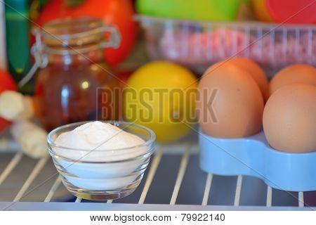 Sodium Bicarbonate Inside Of Fridge