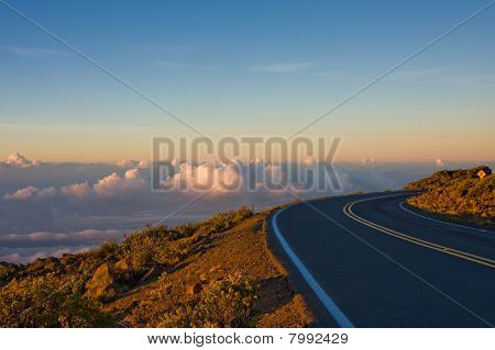A Winding Road To The Top Of The World