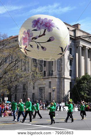 Cherry Blossom Festival Parade.