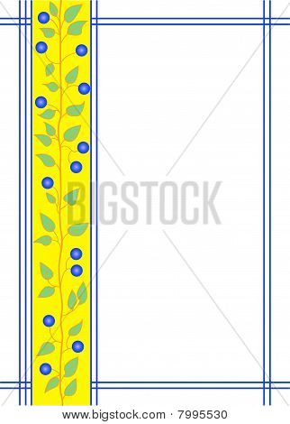Frame With Floral Ornament.eps