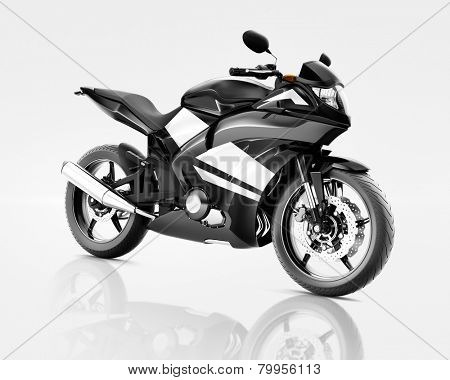 Motorcycle Motorbike Vehicle Riding Transport Tranportation Concept poster