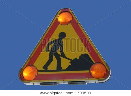 Roadworks Zeichen