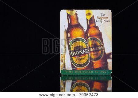 Beermat From Magners Beer