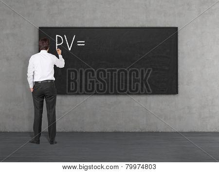 Businessman Drawing Pv