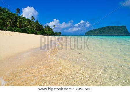 Tropical Beach Island Panorama