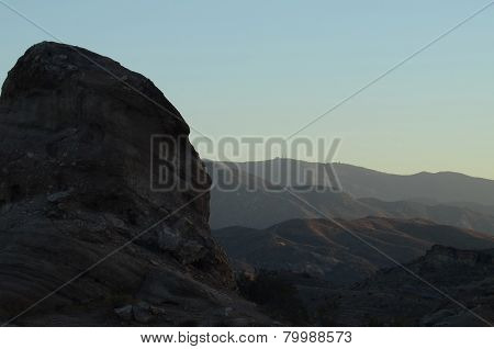 Rocky landscape at Vasquez rocks