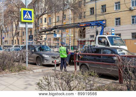 Evacuation Vehicle For Traffic Violations
