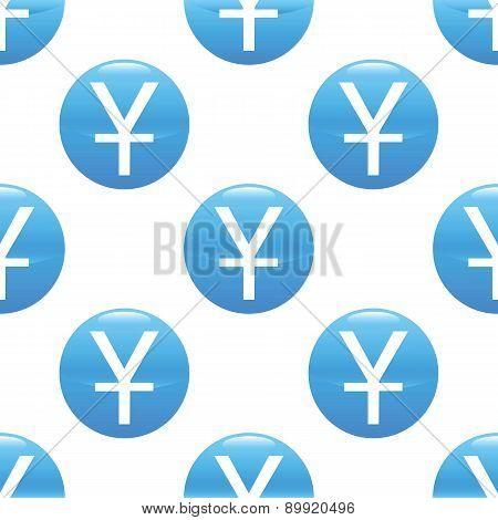 Yen sign pattern