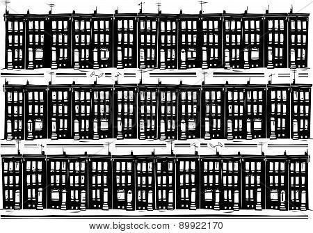 Urban Row Homes