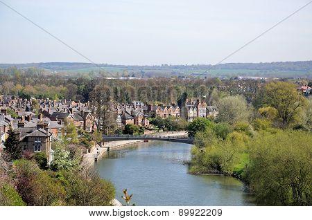 River Severn view, Shrewsbury.