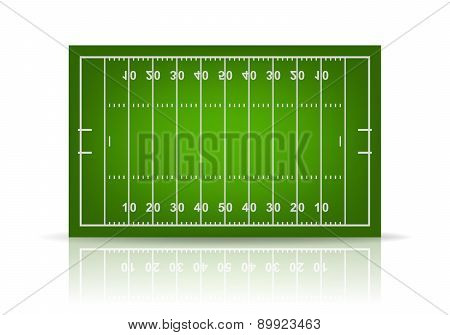 Vector Football Field