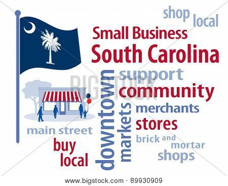Small Business South Carolina, Palmetto State Flag