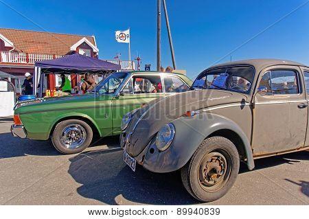 Volkswagen Beetle In Gray