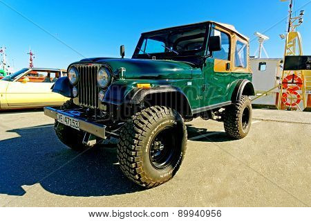 Jeep In Green