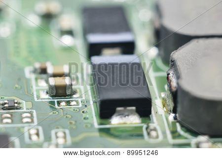 Bright Computer Hardware Background