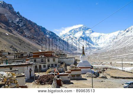 Tibet Rongbu Monastery