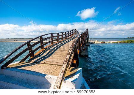 Bridge in Levkas city