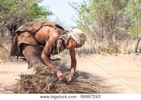 Bushmen woman