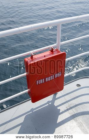 Red Fire Hos Box
