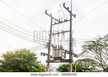 Electric Transformer Substation