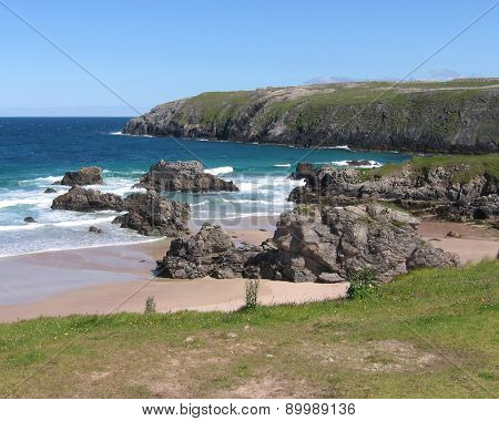 Beach at Durness, Scotland