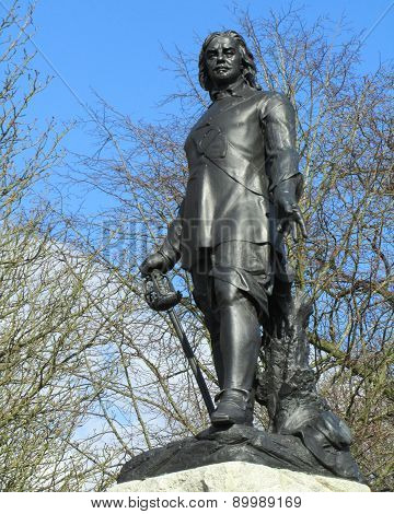 Statue Oliver Cromwell