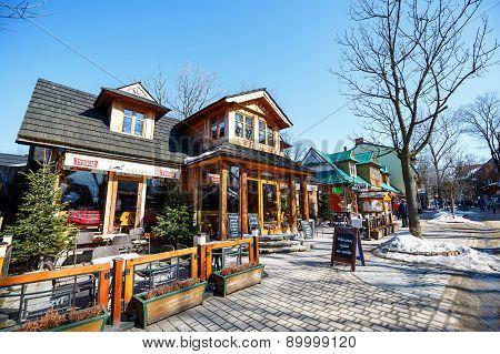 The Restaurant Called Karczma Bacowka At Krupowki