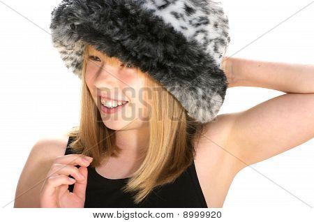 Fluffy hat