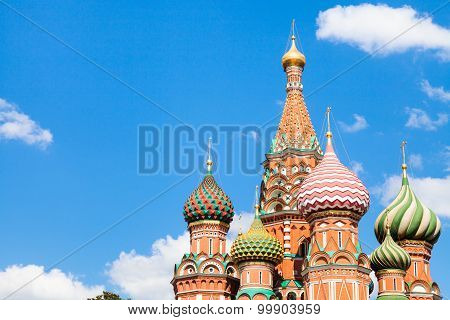 Vasily The Blessed Cathedral In Moscow