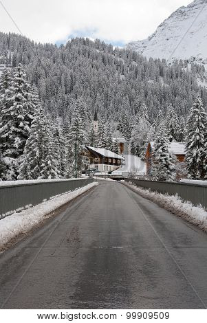 Winter Scene, Austria