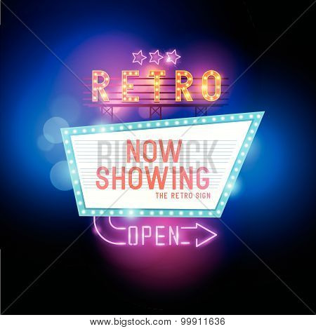 Vintage Show Sign