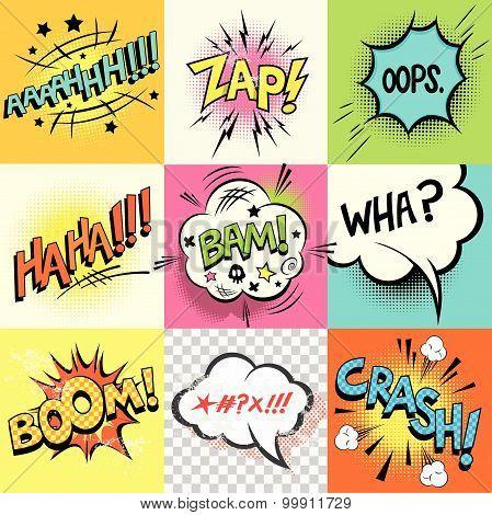 Comic Book Expressions!