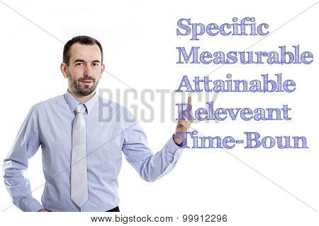 Specific Measurable Attainable Releveant Time-bound Smart