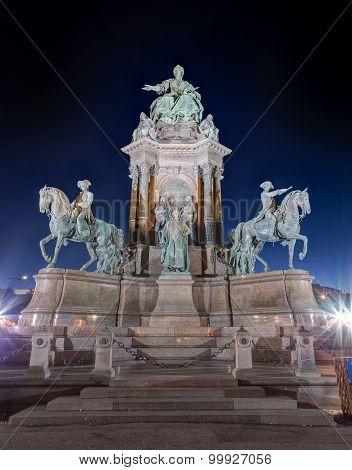Maria Theresa Monument, Vienna, Austria