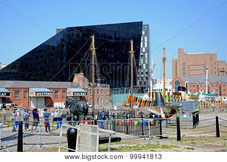 Canning Dock, Liverpool.