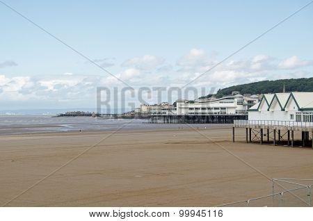 Piers At Weston-super-mare, Somerset