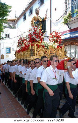 Saint Bernard Procession, Marbella.