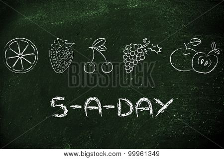 5-a-day Fruit And Vegetables