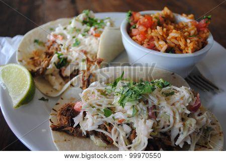 Pulled Pork Tacos