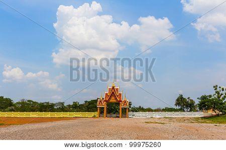 Thailand Temple Entrance