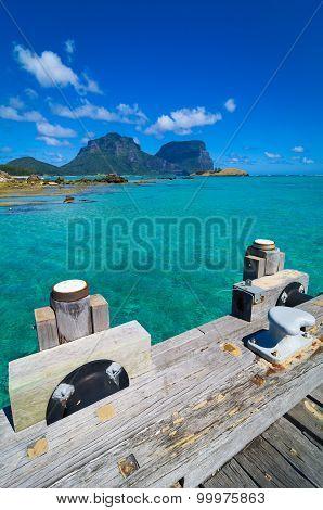 Lord Howe Island Lagoon and Jetty