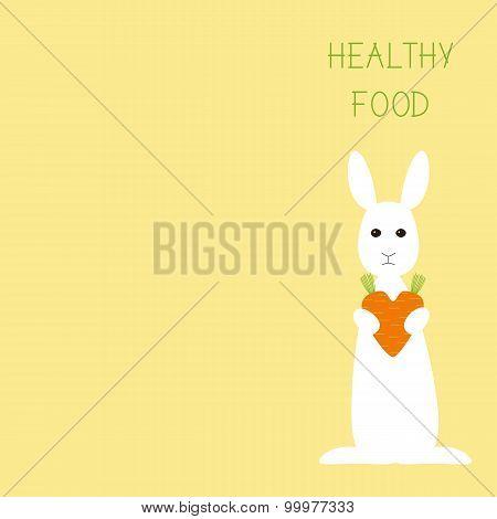 Healthy Food Greeting Card