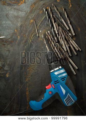 Set Of Bit Drills