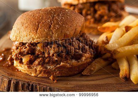 Homemade Bbq Sloppy Joe Sandwiches